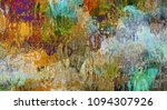 abstract colorful intersection... | Shutterstock . vector #1094307926