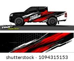 pickup truck livery graphic... | Shutterstock .eps vector #1094315153