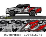 pickup truck livery graphic...   Shutterstock .eps vector #1094316746