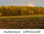 dense forest and field in the... | Shutterstock . vector #1094321330