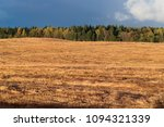 golden field in the background... | Shutterstock . vector #1094321339