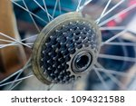 rear wheel of a high speed... | Shutterstock . vector #1094321588