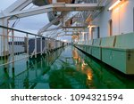 damp deck of the ship in the... | Shutterstock . vector #1094321594