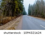 photo of an automobile road in... | Shutterstock . vector #1094321624