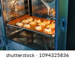 french sweet pastries in a... | Shutterstock . vector #1094325836