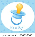 pacifier  vector illustration   Shutterstock .eps vector #1094335340