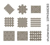 geometric ornaments  weave...   Shutterstock .eps vector #1094368283