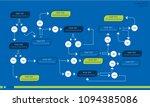 business data visualization.... | Shutterstock .eps vector #1094385086