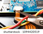 dismantling electronic bomb ... | Shutterstock . vector #1094420519
