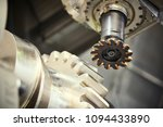cogwheel on shaft milling... | Shutterstock . vector #1094433890