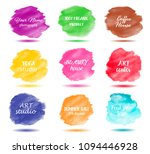 set bright colorful  ... | Shutterstock .eps vector #1094446928