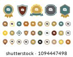 chat bubbles  icon | Shutterstock .eps vector #1094447498