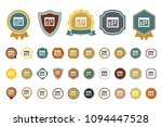 vector calendar   icon | Shutterstock .eps vector #1094447528