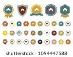 vector croissant icon | Shutterstock .eps vector #1094447588