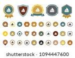 vector boat icon | Shutterstock .eps vector #1094447600