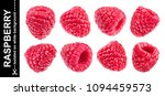Raspberry Isolated On White...