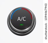car air condition button ... | Shutterstock .eps vector #1094467943