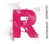 r_atomic_letter | Shutterstock .eps vector #10944757