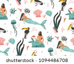 hand drawn vector abstract... | Shutterstock .eps vector #1094486708