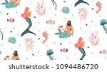 hand drawn vector abstract... | Shutterstock .eps vector #1094486720