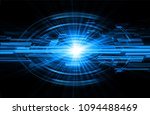 binary circuit board future... | Shutterstock .eps vector #1094488469