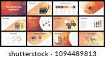 business presentation templates.... | Shutterstock .eps vector #1094489813