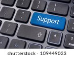 message on keyboard enter key ... | Shutterstock . vector #109449023