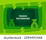 finance 3d abstract green...   Shutterstock .eps vector #1094491448