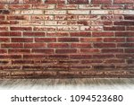 old grunge bricks wall with... | Shutterstock . vector #1094523680