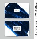 set of vector business card...   Shutterstock .eps vector #1094529896