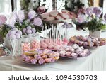 pink candy bar for holiday... | Shutterstock . vector #1094530703