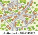 vector illustration. city top... | Shutterstock .eps vector #1094531099