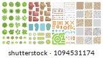 set of landscape elements.... | Shutterstock .eps vector #1094531174