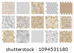 set of vector street pavements. | Shutterstock .eps vector #1094531180
