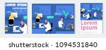 microbiologist studying new... | Shutterstock .eps vector #1094531840