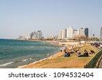 tel aviv  israel   april 07 ... | Shutterstock . vector #1094532404