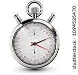 stop watch  vintage vector... | Shutterstock .eps vector #1094535470