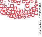 social media marketing...   Shutterstock .eps vector #1094559488