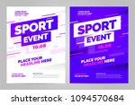 vector layout design template... | Shutterstock .eps vector #1094570684