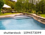 pool in the forest | Shutterstock . vector #1094573099