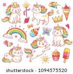 Cute Magic Colorful Fairytale...