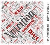 vector conceptual nutrition... | Shutterstock .eps vector #1094584838