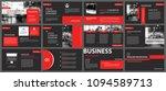 red and black slide... | Shutterstock .eps vector #1094589713