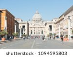 rome  italy   april 23  2018 ... | Shutterstock . vector #1094595803