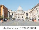 rome  italy   april 23  2018 ... | Shutterstock . vector #1094595803