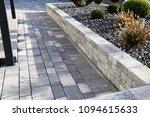 modern front garden | Shutterstock . vector #1094615633