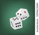 vector illustration of white... | Shutterstock .eps vector #1094615684