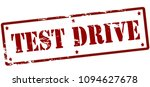 rubber stamp with text test... | Shutterstock .eps vector #1094627678