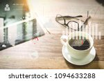 intelligence  bi  and business... | Shutterstock . vector #1094633288
