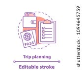 going on trip concept icon.... | Shutterstock .eps vector #1094645759